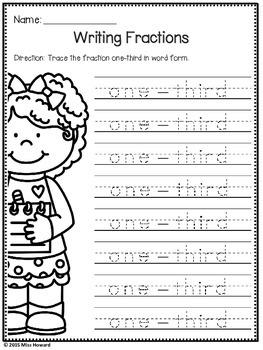 Kindergarten Fractions