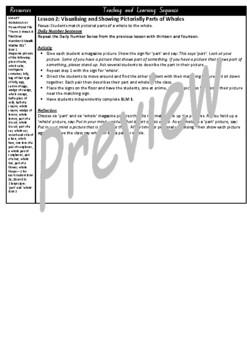 Kindergarten Fractions Smart Notebook and Unit of Work Bundle 2