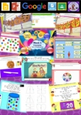 Kindergarten Fractions Smart Notebook and Unit of Work Bundle 3
