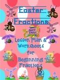Kindergarten Fractions for Easter