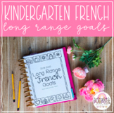 Kindergarten French Long Range Plans // French Literacy Goals