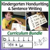 Kindergarten-Friendly Handwriting Program Bundle