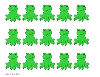 Kindergarten Frogs on a Log Subtraction Game