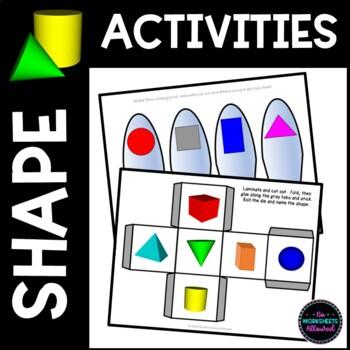 2D & 3D Shape Resources and Activity Prompts
