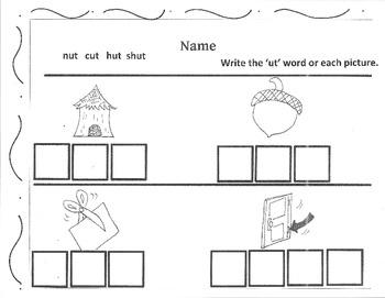 Kindergarten Fun Spring Worksheets