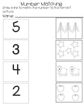 Kindergarten Fun With Numbers to 10