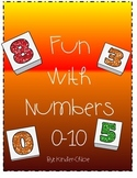 Kindergarten Fun With Numbers to 10