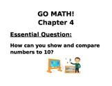 Kindergarten GO MATH! Chapter 4 Essential Questions Lessons 1-7