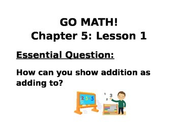 Kindergarten GO MATH! Chapter 5 Essential Questions Lessons 1-12