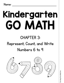 Kindergarten GO MATH Tabbed Booklet {Chapter 3}
