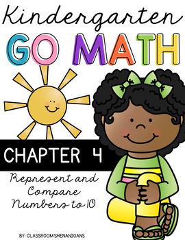 Kindergarten GO MATH Tabbed Booklet {Chapter 4}