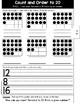 Kindergarten GO MATH Tabbed Booklet {Chapter 8 - Count and Write 20 and Beyond}