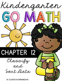 Kindergarten GO MATH Tabbed Flip Book {Chapter 12 - Classi