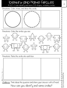 Kindergarten GO MATH Tabbed Flip Book {Chapter 9} SAMPLE FREEBIE!!