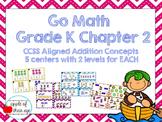 Go Math Kindergarten Chapter 2 (Differentiated Centers)