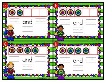 Kindergarten GO Math! Chapter 5: Addition Super Hero Sums
