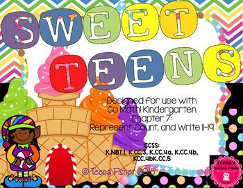 Kindergarten GO Math! Chapter 7: Sweet Teens 11-19