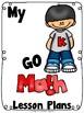 Kindergarten Math Lesson Plan Dividers
