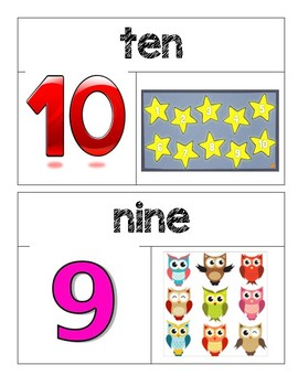 Kindergarten GO Math Word Wall Chapter 5