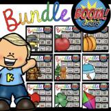 Kindergarten Boom Cards ™ YEAR LONG BUNDLE  - Distance Learning Homeschool