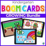 Kindergarten GROWING Bundle | Boom Cards™ Digital Task Cards