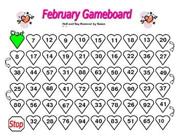 Kindergarten Game Boards All Year Long