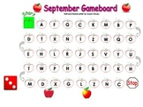 Kindergarten Game Boards All Year Long-SmartBoard