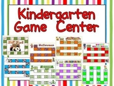 Kindergarten Game Center- letters, words, numbers, and much more