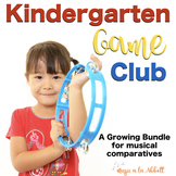 Kindergarten Game Club {A Growing Bundle}