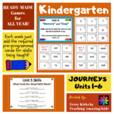 Kindergarten Journeys:  Phonics Games