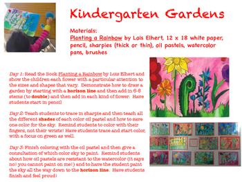 Kindergarten Garden Lesson
