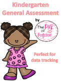 Kindergarten General Assessment--EDITABLE