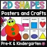 Kindergarten 2D Shapes Building Activities