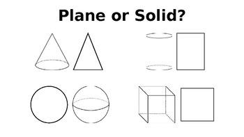 Kindergarten Geometry 3D Shapes Powerpoint