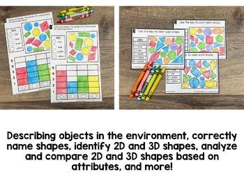Kindergarten Geometry Math Centers