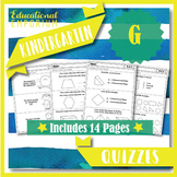 Kindergarten Geometry Quizzes: Kindergarten Math Quizzes: Geometry (K.G Quizzes)