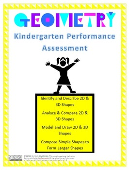 Kindergarten Geometry Review and Assessment