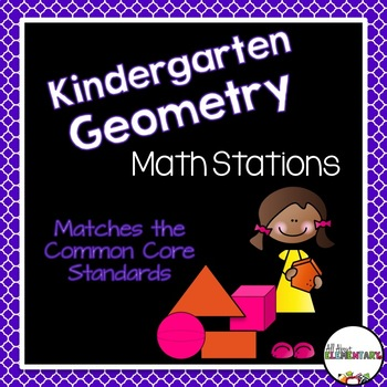Kindergarten Geometry Work Stations