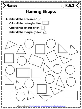 Kindergarten Geometry Worksheets: Geometry Worksheets, Kindergarten Math