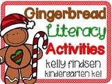 Kindergarten Gingerbread Literacy Activities