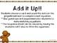Kindergarten Gingerbread Math Center - Add it Up!