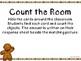 Kindergarten Gingerbread Math Center - Count the Room
