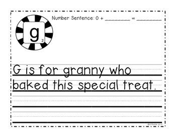Kindergarten Gingerbread Poem