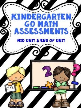 Kindergarten Go Math Assessments