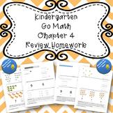 Kindergarten Go Math Chapter 4 Review Homework