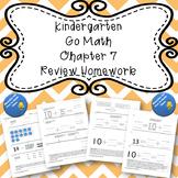Kindergarten Go Math Chapter 7 Review Homework