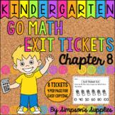 Kindergarten Go Math Chapter 8 Exit Tickets