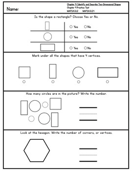 Kindergarten Go Math! Chapter 9 Practice Pages *Florida MAFS Edition*