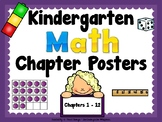 Kindergarten Math Chapter Posters ******* Focus Wall*******
