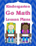Kindergarten Go Math Lesson Plans for the Year